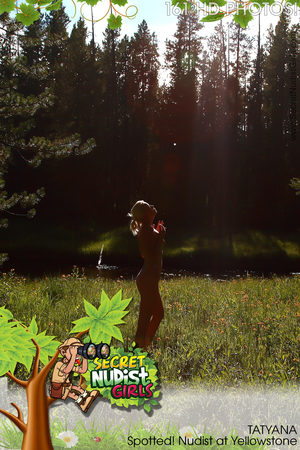 FREE PREVIEW Tatyana Spotted! Nudist at Yellowstone