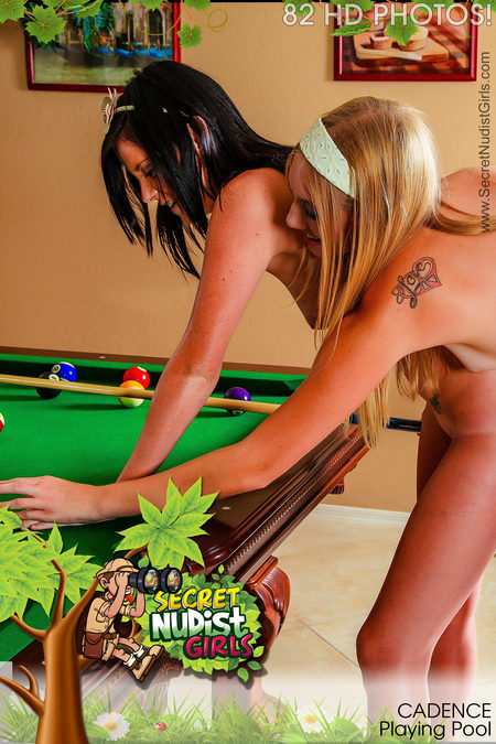 Cadence Playing Pool