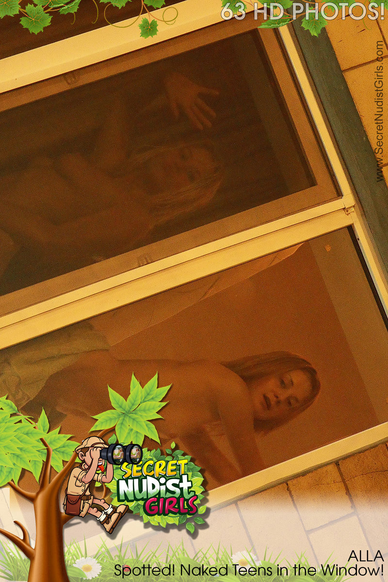 FREE PREVIEW Alla Spotted! Naked Teens in the Window!