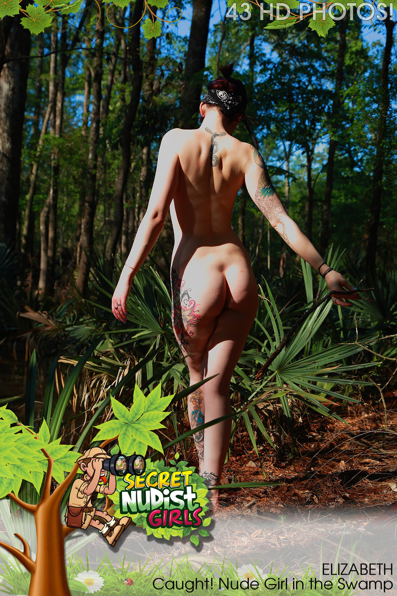 FREE PREVIEW Elizabeth Caught! Nude Girl in the Swamp
