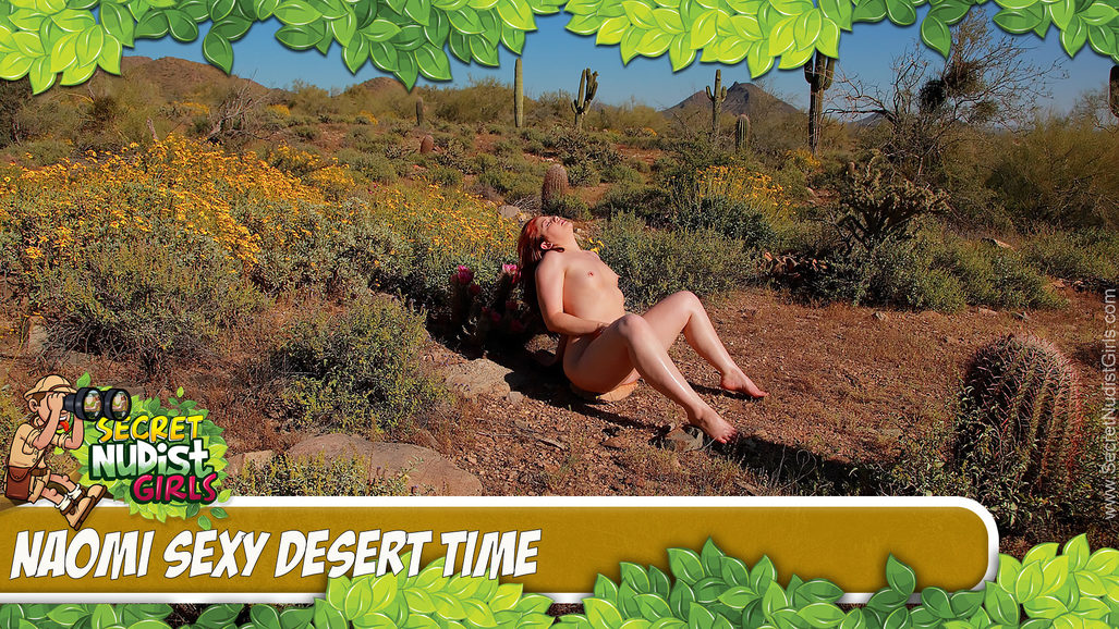 Naomi in Sexy Desert Time